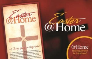 easter @home poster